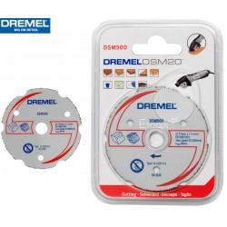 DSM500 DREMEL Δίσκος ισόπεδης κοπής καρβιδίου πολλαπλής χρήσης