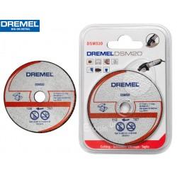 DSM510 DREMEL Δίσκος ισόπεδης κοπής καρβιδίου πολλαπλής χρήσης