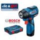 GDS 12 V-115 Περιστροφικό κρουστικό κατσαβίδι μπαταρίας BOSCH SOLO + L-Boxx