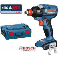 GDX 18 V-EC BOSCH Μπουλονόκλειδο Μπαταρίας SOLO + L-Boxx