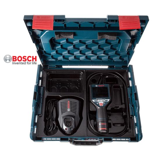 GIC 120 C BOSCH Κάμερα επιθεώρησης μπαταρίας 10.8V li-ion + L-Boxx + 1 x 1.5Ah Battery