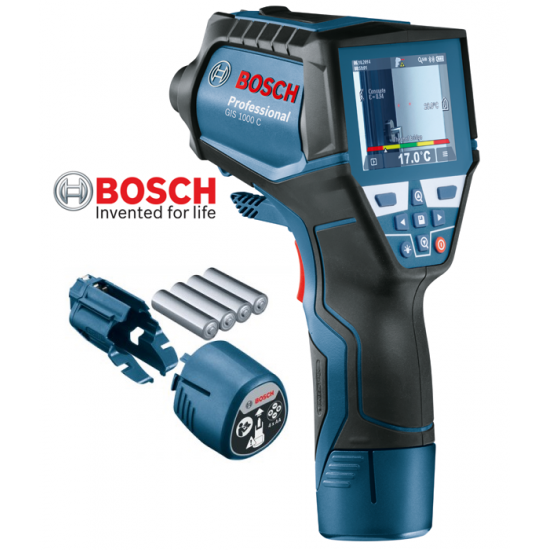 GIS 1000 C BOSCH Θερμικός Ανιχνευτής + Αλκαλικές Μπαταρίες