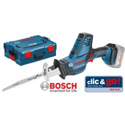 GSA 18 V-LI C BOSCH Σπαθόσεγα μπαταρίας SOLO + L-Boxx