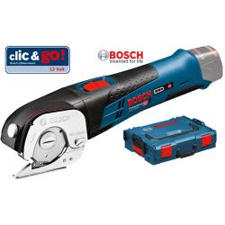 GUS 12V-300 BOSCH Ψαλίδι γενικής χρήσης μπαταρίας SOLO + L-Boxx
