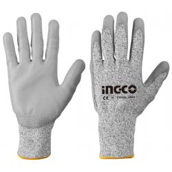 Γάντια PU Αντοχής Στα Κοψίματα Large INGCO