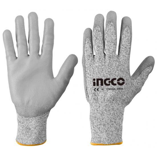 Γάντια PU Αντοχής Στα Κοψίματα X- Large INGCO