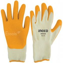 Γάντια Latex L INGCO
