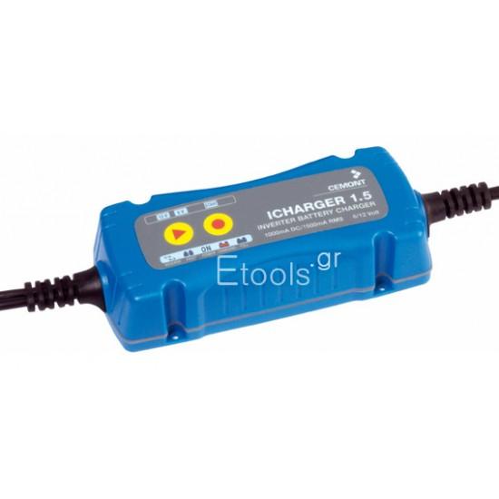 ICHARGER 1.5 Φορτιστής μπαταριών