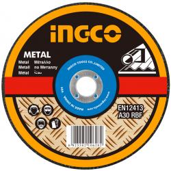 Δίσκος Metal Inox 115mm Σε Κουτί 10 Τεμαχίων  INGCO