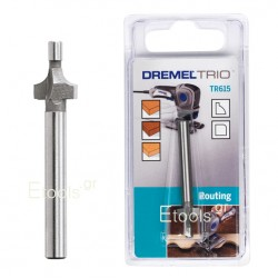 TR615 DREMEL Φρέζα στρογγύλευσης γωνιών για TRIO