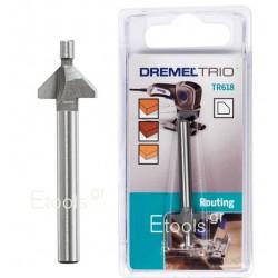 TR618 DREMEL Φρέζα φάσας για TRIO