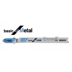 Πριονόλαμες σέγας - Basic for Metal Bosch