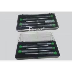 Σετ Κατσαβίδια - Καρυδάκια Εξάγωνα  ΜΙΝΙ 5τμ XONIC SCHRODER