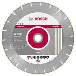 Διαμαντόδισκος μαρμάρου 230mm Bosch