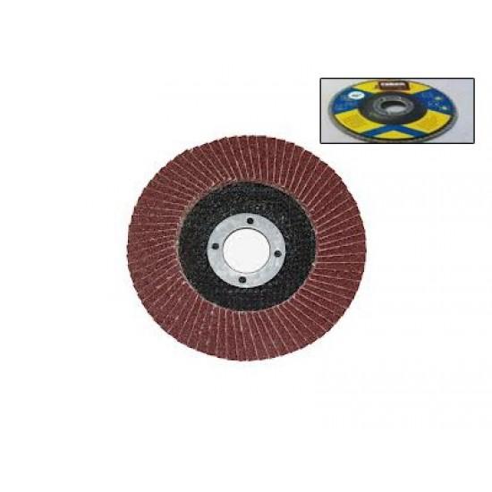 Δίσκος λείανσης φίμπερ για γωνιακούς τροχούς κόκκωση 40