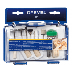 Σετ για καθάρισμα-γυάλισμα 20 τεμαχίων 684 DREMEL