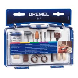 Σετ πολλαπλής χρήσης 52 τεμαχίων 687 DREMEL