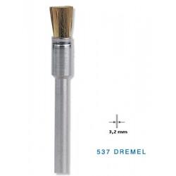 537 Ορειχάλκινη Βούρτσα DREMEL