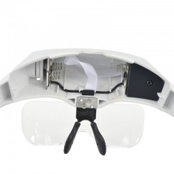 Μεγενθυτικός Κεφαλής με 2 LED Φώς και 5 Μεγενθύσεις 59-989202