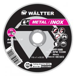 Δίσκος Κοπής 115 x 1.0mm Metal Inox 55-1151022 WALTTER