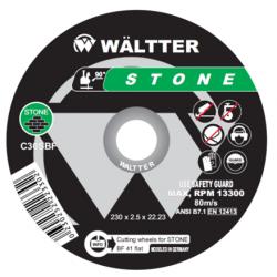 Δίσκος Κοπής Πέτρας (Δομικών) 115 x 2.5 mm 55-1152522 WALTTER