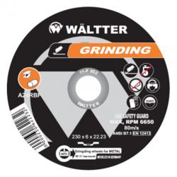Δίσκος Λειάνσεως 115 x 6.0 mm Metal Inox 55-1156022 WALTTER