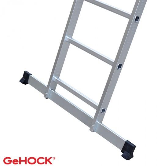 Διπλή πτυσσόμενη αλουμινίου σκάλα με 2x12 σκαλοπάτια 59-010295212