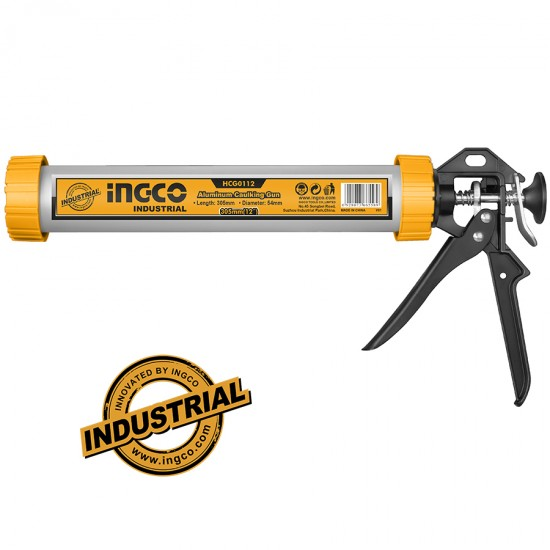 """Πιστόλι Αλουμινίου Επαγγελματικό 12"""" INGCO"""