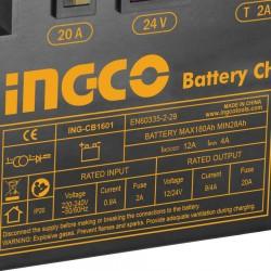 Φορτιστής μπαταριών αυτοκινήτου CB1601 INGCO