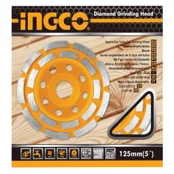 Διαμαντόδισκος Λείανσης Δομικών Υλικών 125mm INGCO