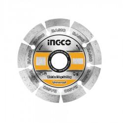 Δίσκος Διαμαντέ Δομικών 115x22.2mm Δομικών Υλικών INGCO