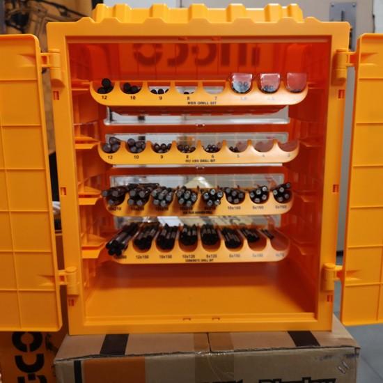Εκθετήριο Τρυπανιών Κομπλέ με 260 Τρυπάνια AKD2608M-1 INGCO