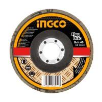 Δίσκος Λείανσης Fiber P40 115mm FD1151 INGCO