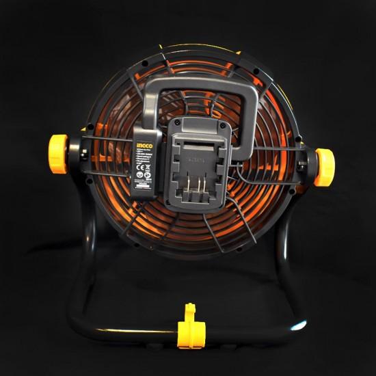 Ανεμιστήρας Μπαταρίας 20V Li-Ion CFALI2002 INGCO