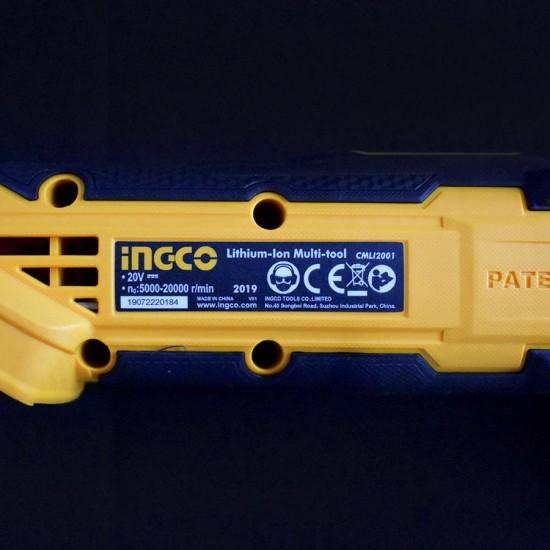 Πολυεργαλείο Μπαταρίας 20V Li-Ion CMLI2001 INGCO