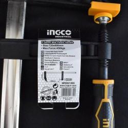 Σφιγκτήρας Μαραγκών Βαρέως Τύπου Επαγγελματικός 120x600mm HFC021205 INGCO