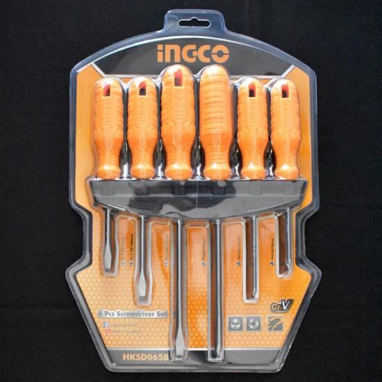 Σετ 6 Κατσαβίδια HKSD0658 INGCO