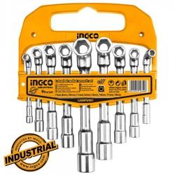 Σετ 9τεμ Γωνιακά Κλειδιά Καρυδάκια Επαγγελματικά LASWT0901 INGCO