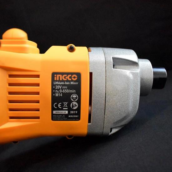 Αναδευτήρας Χρωμάτων Μπαταρίας 20V Li-Ion MXLI2001 INGCO