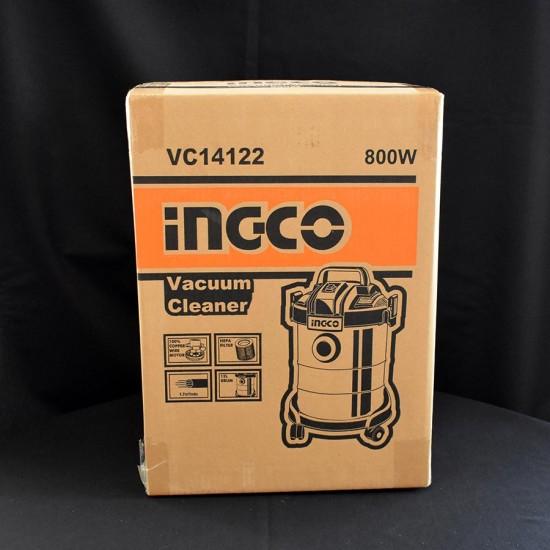 Ηλεκτρική Σκούπα Υγρών Στερεών 800W VC14122 INGCO