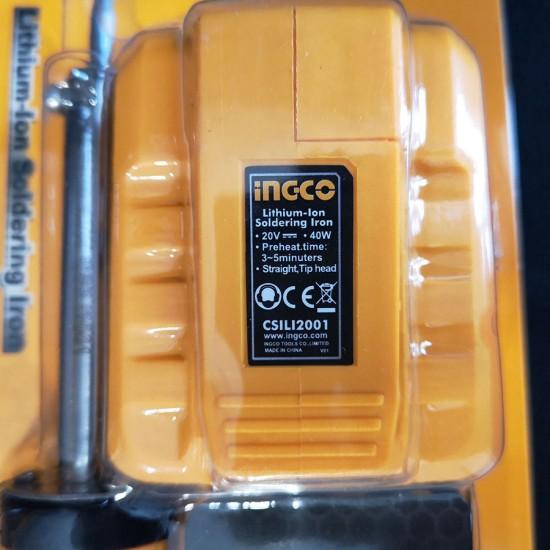 Κολλητήρι Μπαταρίας 20V Li-Ion Solo CSILI2001 INGCO