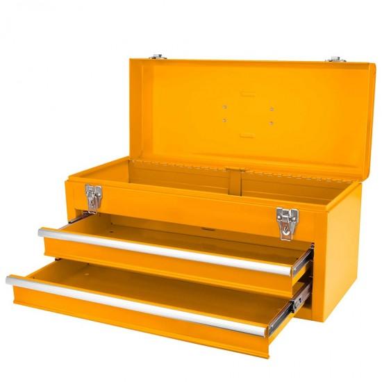 Εργαλειοθήκη Άδεια 3 Θέσεων με 2 Συρτάρια HTB06 INGCO