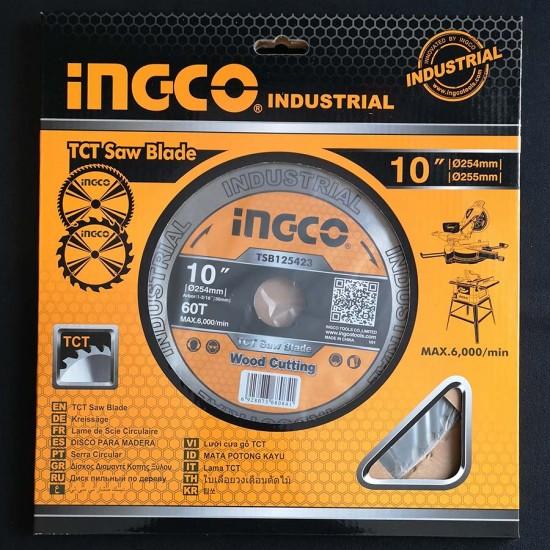 Δίσκος Κοπής Ξύλου 254mm Επαγγελματικός TSB125423 INGCO