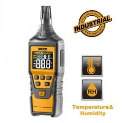 Επαγγελματικός Ηλεκρονικός Μετρητής Υγρασίας και Θερμοκρασίας HETHT01 INGCO