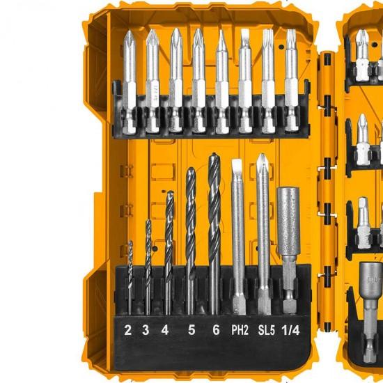 Επαγγελματικό Σετ 45 τεμ Μύτες AKDL24501 INGCO