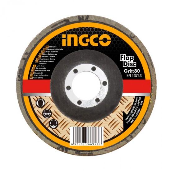 Δίσκος Λείανσης Φίμπερ 125mm 80k FD1253 INGCO
