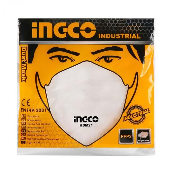 Επαγγελματική Μάσκα Προστασίας απο Σκόνη HDM21 INGCO