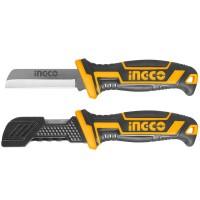 Μαχαίρι Απογυμνωτής Καλωδίων με Ίσια Λάμα HPK82101 INGCO