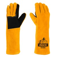 Γάντια Ηλεκτροσυγκολητών Δερμάτινα HGVW02 INGCO