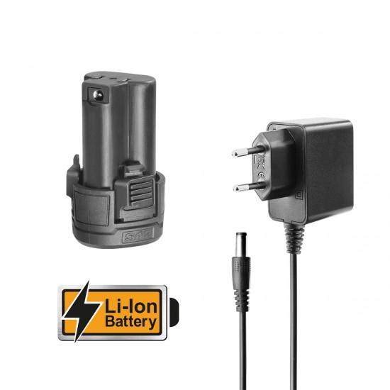 Ψηφιακή Επιτραπέζια Ζυγαριά έως 30kg Μπαταρίας 12V Li-Ion CES1223 INGCO